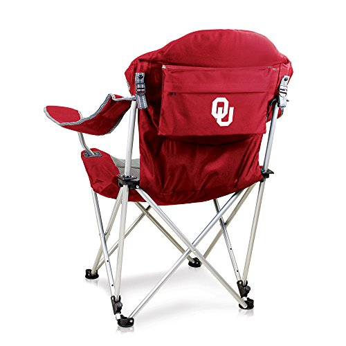 NCAA Oklahoma Sooners Reclining Camp Chair, Red