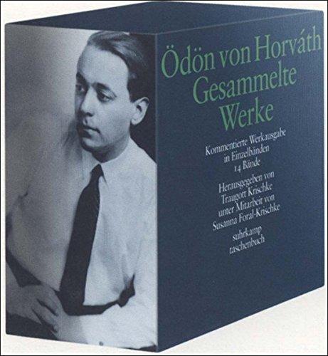 Gesammelte Werke. Kommentierte Werkausgabe in Einzelbänden: Gesamte Werkausgabe (suhrkamp taschenbuch)