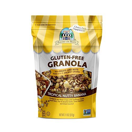Bakery On Main Gluten-Free, Non GMO Granola, Tropical Nutty Banana, 11 Ounce (Pack of 6)