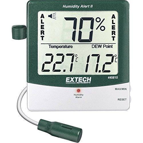 Digitales Hygrometer, Alarm, 14 bis 140 F