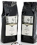 Barista Italiano 2 x 1KG Café en Grains - Goût Premium (DELICATO ARABICA)