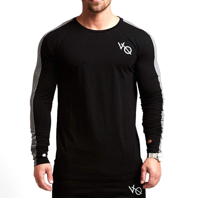 Tシャツ メンズ 長袖 トレーニングウェア スポーツシャツ ジム 吸汗速乾 筋トレ ストレッチ スポーツウェア ボディビル