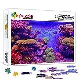 Puzzle de 500 piezas Beautiful sea coraAnimal set puzzleAnimal juguete rompecabezas juego de entretenimiento juguete decoración de la pared pintura 52x38cm