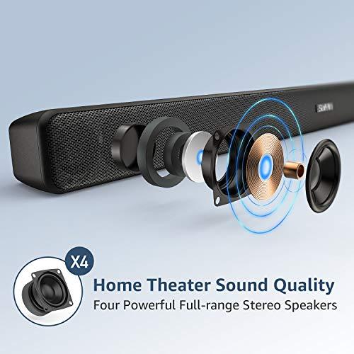 Barre de son pour téléviseur, Bluetooth, barre de son TV 29