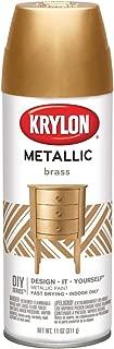 General Purpose Spray Paint Metallic Brass