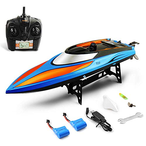 GizmoVine Remote Control Boat, 2.4GHz High Speed Electric Remote RC Boat for...