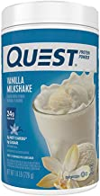 Quest Nutrition Vanilla Milkshake Protein Powder, High Protein, Low Carb, Gluten Free, Soy Free, 25.6 Ounce (Pack of 1)