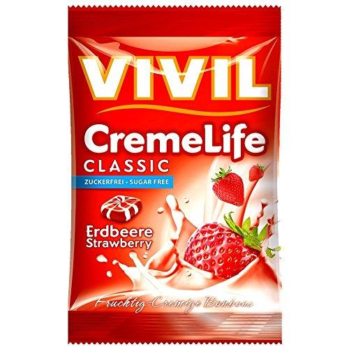 Vivil Creme Life Classic Erdbeere zuckerfrei 110g