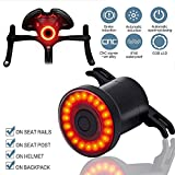 Yosky Smart Bike Tail Light Sensing Rear Light-USB Rechargeable Safety Rear Bicycle Brake