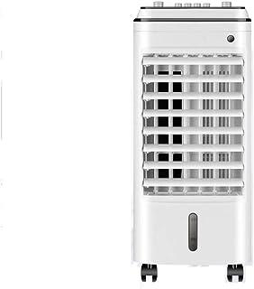 Aires Acondicionados Móviles Aire Acondicionado Portátil Enfriador Móvil Ventilador De Enfriamiento Humidificación Purificacion Tiempo Remoto Enfriamiento Rapido Doble Tanque De Agua