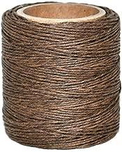 Maine Thread 210 feet each Includes 2 spools. .040 Gray Waxed Polycord
