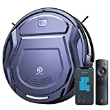 OKP Robot Vacuum Cleaner Wifi Connected Mini Robot Vacuums Cleaner Ultra-thin 1800Pa Suction App Alexa Self-Charging Quiet Automatic Robotic Vacuums for Home Pet Hair Hard Wood Floor Low Pile Carpets