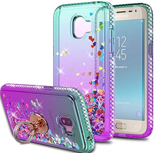 Galaxy J2 Pro 2018 Case J2 2018 Grand Prime Pro Case with HD Screen Protector with Ring Holder product image
