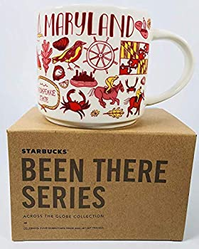 Starbucks Maryland Mug Been There Series Across The Globe Collection
