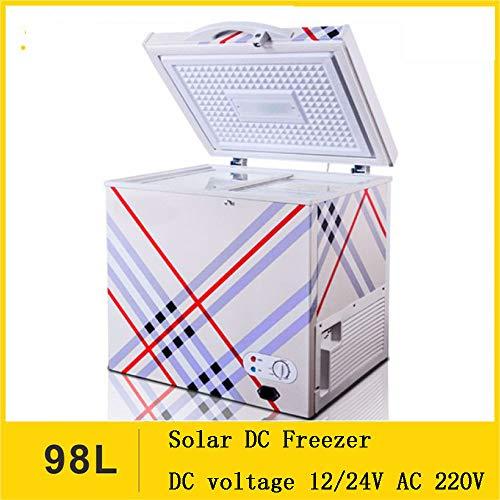 SSLL 98l Mini Frigorifero Portatile All'Aperto dell'automobile 12v/220v Centro Digital Display...