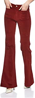 Pull & Bear-9682/341/701-WOMEN-PANT-RED-36