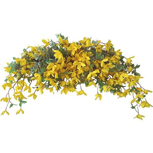 Swag de flor artificial de la simulación de la decoración floral del Ministerio del Interior falsificación flor botín falso que cuelga de la puerta de la guirnalda de la guirnalda de flores
