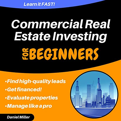 『Commercial Real Estate Investing for Beginners』のカバーアート
