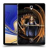 Head Case Designs Oficial Anne Stokes La Verdad Dragones 5 Carcasa rígida Compatible con Galaxy Tab S4 10.5 (2018)