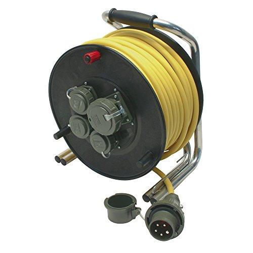 Dönges Leitungsroller Feuerwehr 230 V/400 V, 16 A DIN 14680, 50 m