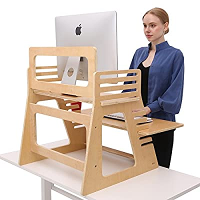 SDADI Adjustable Desktop Standing Desk Laptop Desk