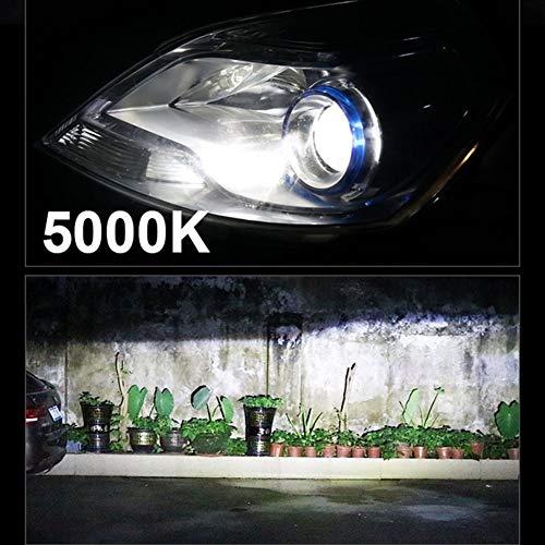 XIAOYAFANG Hxfang H4 LED H8 H9 H11 H1 9005 HB3 HB4 9006 Bombilla LED Mini H7 llevó el Auto del Coche de Canbus lámpara de la Linterna del Faro 12000lm 80W con ZES Ahora Caliente