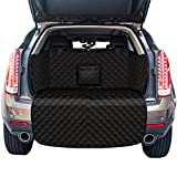WEEKSUN SUV Cargo Liner for Dogs, Water Resistant Pet Cargo Cover Dog Seat Cover Mat with Bumper Flap Protector, Non-Slip, Large Size Universal Fit for SUVs Sedans Vans