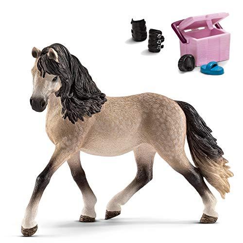 Horseclub Schleich 13793 Andalusier Stute + 42114 Pferdepflege