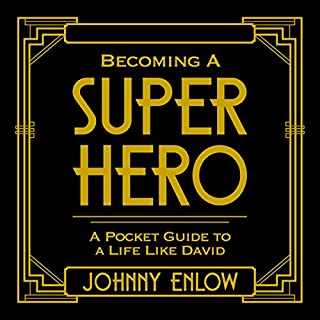 Becoming a Super Hero audiobook cover art
