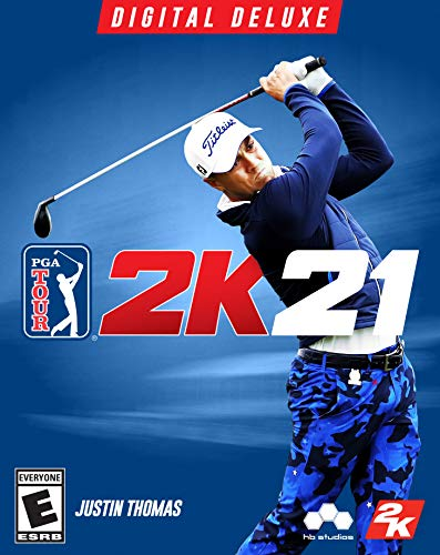 PGA Tour 2K21 Deluxe - PC [Online Game Code]