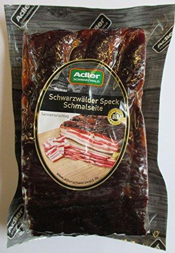Schwarzwald Art Adler Schmalseite Vesper-Speck mindestens 500g