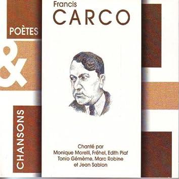 Poètes & chansons : Francis Carco