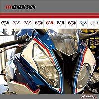 H.yalu (エイチ.ヤル) オートバイフェアリングデカールステッカー 対応車種 BMW S1000RR 2015-2017(TypeD レッド)