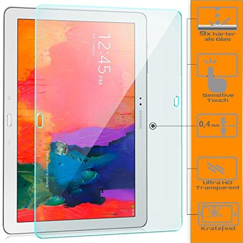 zanasta [3 Stück] Bildschirmschutz Folie kompatibel mit Samsung Galaxy NotePRO 12.2 Schutzfolie aus Gehärtetem Glas (Glasfolie) HD Klar Transparent