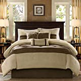 Madison Park Palmer Cozy Comforter Set-Luxury Faux...