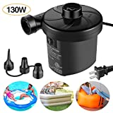 Sailnovo Electric Air Pump, Portable Quick-Fill Air Mattress Pump Couch, Blow up Pool Raft Bed Boat...