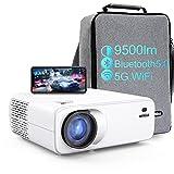 Vidéoprojecteur WiFi Bluetooth, WiMiUS 1080p Full HD...