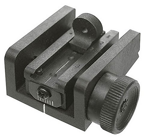 Ultimate Arms Gear Fully Machined Rear Sight for U.S. M1 Carbine and all commercially manufactured copies, fits existing Dovetail