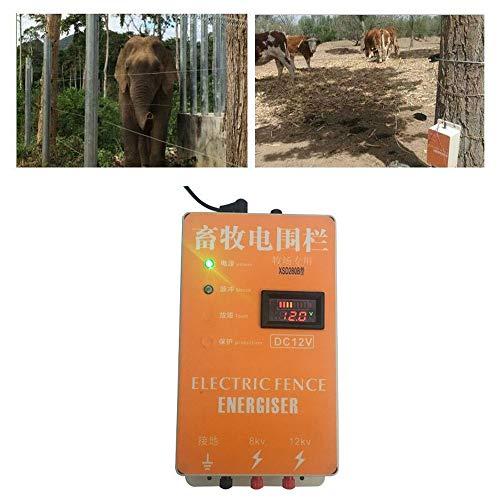 Haomingxing Cerco eléctrico Solar Energizador Controlador de Pulso de Alto Voltaje Granja...