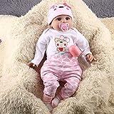 Lorenlli 55 CM 6 UNIDS/Set Lindo Diseño Niños Reborn Baby Doll Suave Vinilo...