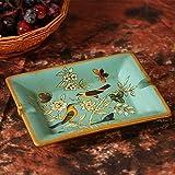 CESULIS Gran Capacidad Cenicero de cerámica Decoraciones for el hogar pastorales Americanos Pintados creativos Personalidad Retro Retro Adornos de Sala de Estar Regalos