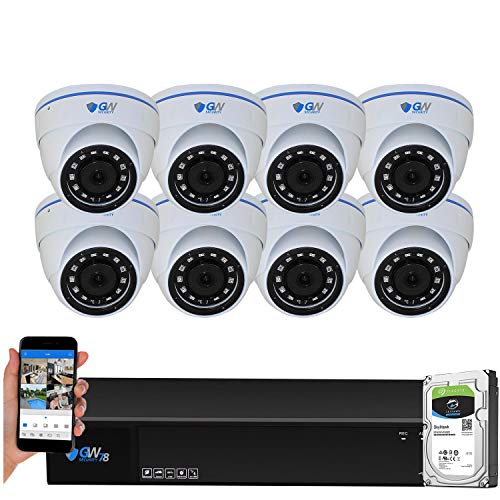 Find Bargain GW Security 8 Channel HD 2592TVL Outdoor/Indoor 5MP 1920P CCTV Security Camera System w...