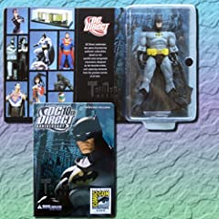 Wonderful Comic-Con celebration of your favorite comic book heroes This exclusive Batman figure based on George Perez's artwork Comes in custom deluxe packaging This character features multiple points of articulation Recommended for ages 10 and up