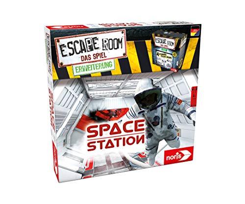 Noris 606101642 Escape Room Erweiterung Space Station, Familien und Gesellschaftsspiel für Erwachsene, Nur mit dem Chrono Decoder spielbar, ab 16 Jahren