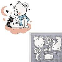 動物の人形の死んだ月の星のウサギの女の子の切断ダイのためのスクラップブッキングDiyエンボス加工のカットクラフトダイバーバルーンダイ (色 : 1)