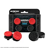 KontrolFreek Gamerpack Inferno + Omni Performance Thumbsticks for PlayStation 4 (PS4) | 2 High-Rise (Inferno) 2 Low Rise (Omni)