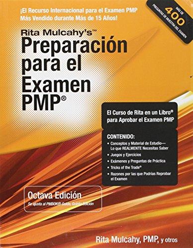 Rita mulcahy preparacion para el examen pmp libro en espaol free rita mulcahy fandeluxe Choice Image