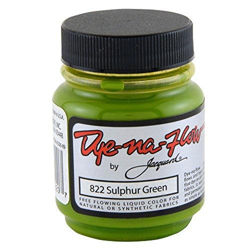 Jacquard Dye-Na-Flow 2.25 OZ Sulpher Green