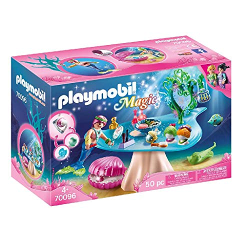 PLAYMOBIL Magic 70096 Beautysalon mit Perlenschatulle, Ab 4 Jahren