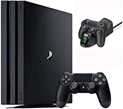 $729 » 2020 Newest Playstation 4 Pro PS4 Pro 1TB Console w/Ghost Manta Fast Charging Station Dock